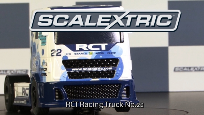 SCALEXTRIC 1:32 Racing Truck 2 Weiß #22 (500003610)