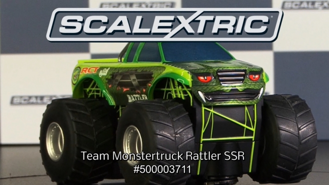 SCALEXTRIC 1:32 Team Monster Truck Rattler SRR (50003711)