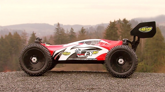 CARSON FY10 Destroyer Line Brushless 2S 100% RTR 2,4 GHz