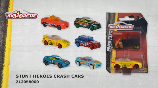 Stunt Heroes Crash Cars