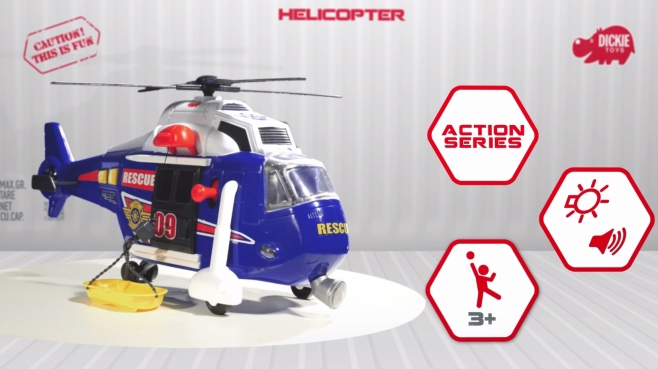 Action Series Helicopter - Spielzeughelikopter - Hubschrauber - Dickie Toys