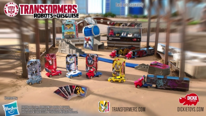 Transformers DieCast Vehicles