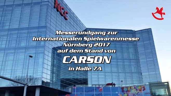 Spielwarenmesse CARSON Rundgang 2017