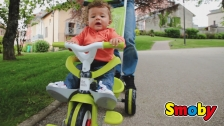 Flotter Flitzer für kleine Entdecker - der mitwachsende Baby Balade von Smoby