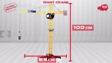 Giant Crane - Construction - Ferngesteuerter Kran - Baukran - Dickie Toys