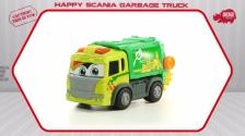 Happy Scania Garbage Truck - Müllauto motorisiert - Dickie Toys