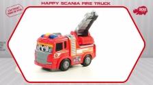 Happy Scania Fire Truck - Spielzeugfeuerwehr motorisiert - Dickie Toys