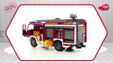 Iveco Fire Engine - Spielzeugfeuerwehr mit Wasserspritze - Dickie Toys