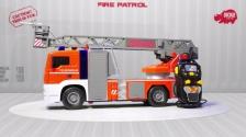 Fire Patrol - Spielzeugfeuerwehr kabelgesteuert - SOS - Dickie Toys