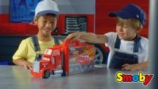 Auf die Plätze, fertig los! Mit dem Cars Mack Truck Simulator