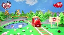 Helden der Stadt Spielzeug - Zara Zug Fahrzeug mit Licht und Sound