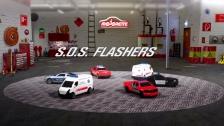 SOS Flashers - Majorette SOS Fahrzeuge mit Licht und Sound
