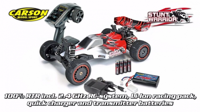 1:10 X10EB-2WD Stunt Warrior 100% RTR GHz (500404057) EN
