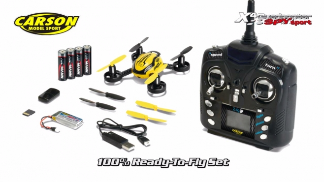 X4 Quadcopter SPY sport GHz 100% RTF (500507082) EN