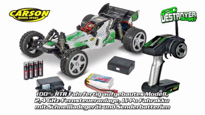 1:12 FD Destroyer Buggy GHz 100% RTR (500404100) DE