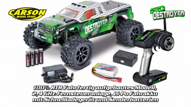 1:12 FD Destroyer Truggy GHz 100% RTR (500404101) DE