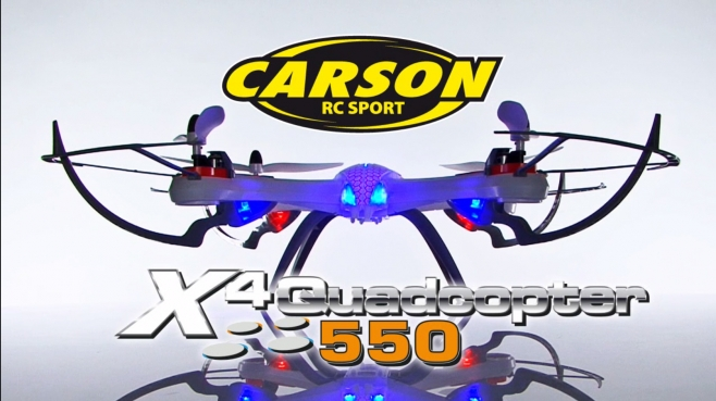 X4 Quadcopter 550 & 550 SPY GHz 100% RTF (500507099, 500507100) EN