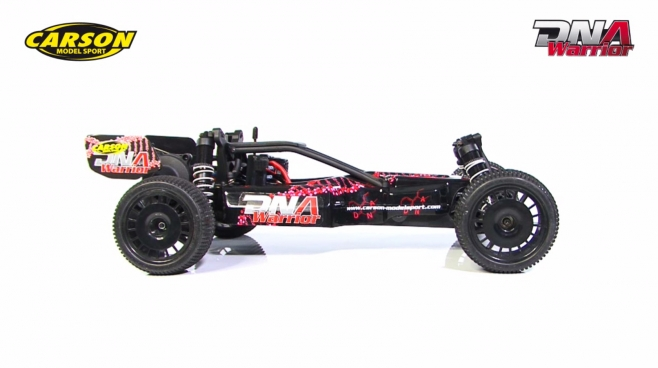 1:10 DNA Warrior brushless GHz RTR & 100% RTR (500404092, 500404093) DE