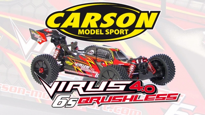 1:8 Virus 4.0 6S brushless GHz RTR & 100% RTR (500409052, 500409053) EN