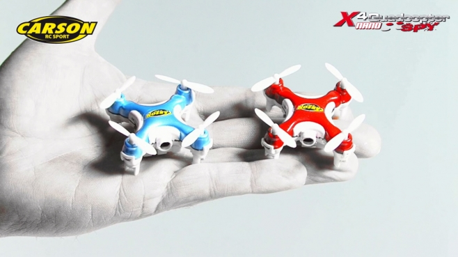 X4 Quadcopter NANO SPY GHz 100% RTF (500507107, 500507108) DE
