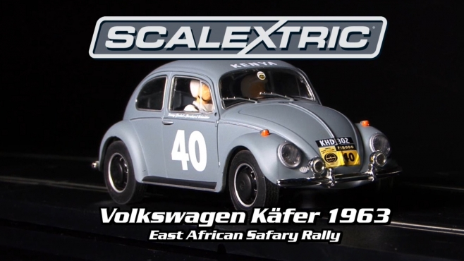 "Volkswagen Käfer 1963 ""East African Safari Rally"" SCALEXTRIC (500003642)"