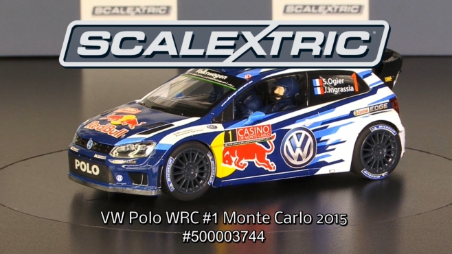SCALEXTRIC 1:32 VW Polo WRC #1 Monte Carlo 2015 (500003744)