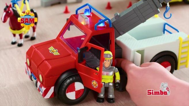 Feuerwehrmann Sam Fahrzeuge Mit Phoenix Simba Toys Video Simba