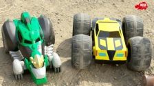 Transformers RC Flip `N`Race Bumblebee und RC Rumble Grimlock