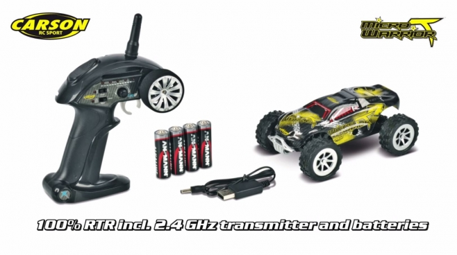 1:24 Micro T-Warrior GHz 100% RTR (500404102) EN