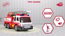 Action Series Fire Brigade - Feuerwehrfahrzeug - Dickie Toys