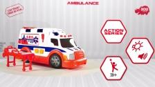 Action Series Ambulance - Krankenwagen - Ambulanz - Dickie Toys