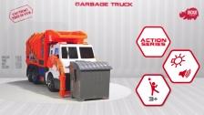 Action Series Garbage Truck - Müllabfuhr - Müllfahrzeug - Dickie Toys