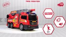 Action Series Fire Fighter - Feuerwehr mit Wasserspritze - Dickie Toys