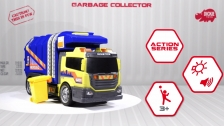 Action Series Garbage Collector - Müllfahrzeug - Müllabfuhr - Dickie Toys