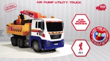 Air Pump Utility Truck - MAN Nutzfahrzeug - Spielfahrzeug - Dickie Toys