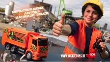 RC Mercedes-Benz Antos Garbage Truck -Ferngesteuertes Müllfahrzeug -Dickie Toys