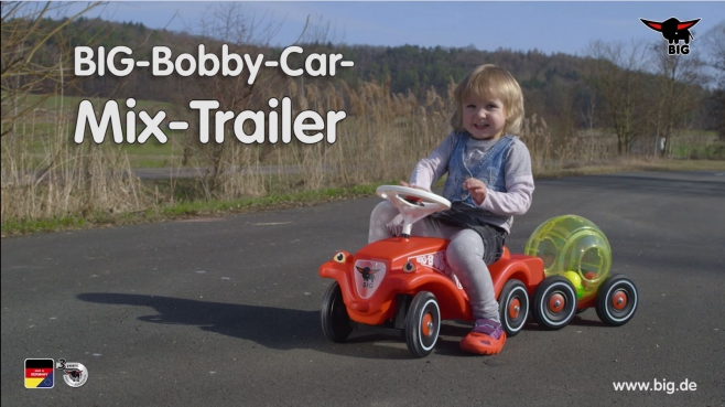 BIG-Bobby-Car Mix-Trailer