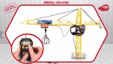 Mega Crane - Construction - Ferngesteuerter Kran - Baukran - Dickie Toys
