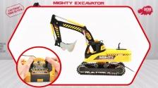 Mighty Excavator - Kabelferngesteuerter Bagger - Dickie Toys
