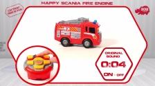 RC Happy Scania Fire Engine - Ferngesteuerte Feuerwehr - Dickie Toys