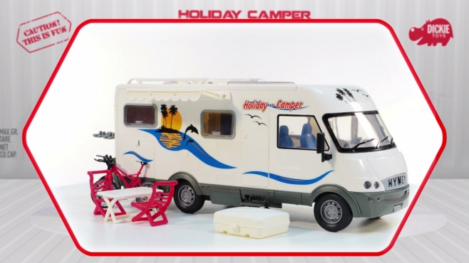Holiday Camper - Hymer Wohnmobil - Camper - Dickie Toys