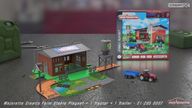Majorette Creatix Farm Stable Playset Aufbauvideo - Instruction manual