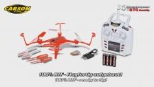 X4 Quadcopter 270 Backflip 2.4G 100% RTF (500507109) DE/EN