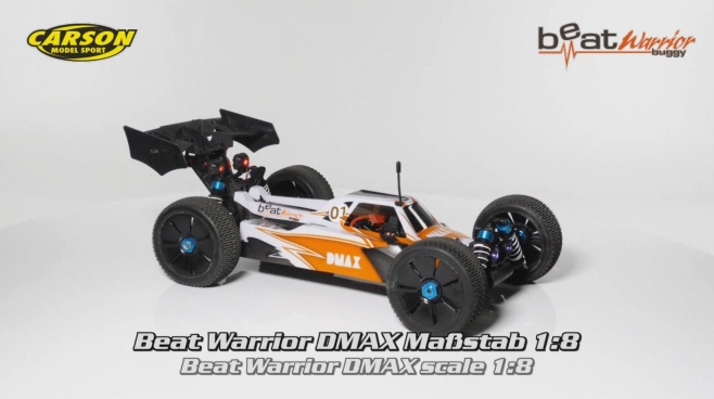 DMAX 1:8 Beat Warrior Buggy 100% RTR (500409019) DE/EN
