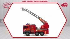 Air Pump Fire Engine - Spielzeugfeuerwehr mit Luftpumpfunktion - Dickie Toys