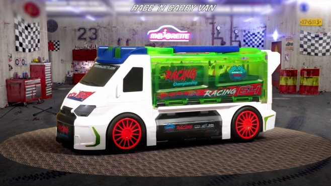 Race 'N Carry Van incl. 1 car