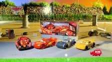 RC Cars 3 Ultimate Lightning McQueen Cruz Ramirez, Jackson Storm von Dickie Toys