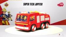 Feuerwehrmann Sam Super Tech Jupiter mit Programmierfunktion