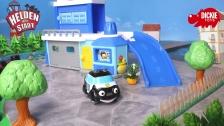 Helden der Stadt Spielzeug - Paul Polizei Fahrzeug mit Licht und Sound