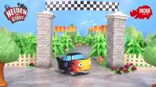 Helden der Stadt Spielzeug - Tobi Turbo Fahrzeug mit Licht und Sound